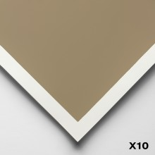 Art Spectrum : Colourfix Smooth : Pastel Paper : 50x70cm : Soft Umber : Pack of 10