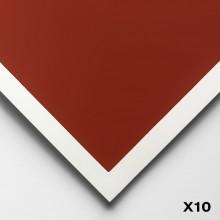 Art Spectrum : Colourfix Smooth : Pastel Paper : 50x70cm : Terracotta : Pack of 10