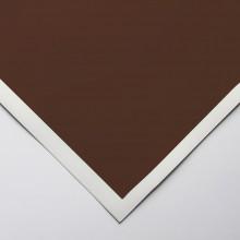 Art Spectrum : Colourfix Smooth : Pastel Paper : 50x70cm : Burnt Umber