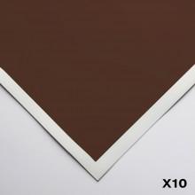 Art Spectrum : Colourfix Smooth : Pastel Paper : 50x70cm : Burnt Umber : Pack of 10