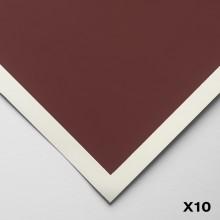 Art Spectrum : Colourfix Smooth : Pastel Paper : 50x70cm : Burgundy : Pack of 10