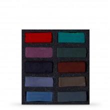 Art Spectrum : Extra Soft Square Pastel : Set Of 10 : Darks