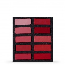 Art Spectrum : Extra Soft Square Pastel : Set Of 10 : Reds