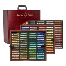 Art Spectrum : Soft Pastel : Set : Deluxe Wooden Box Set : Set of 154