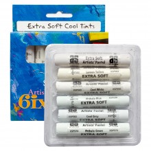 Art Spectrum : Extra Soft Pastel : Set of 6 : Cool Tints