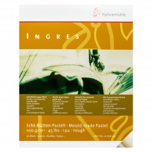 Hahnemuhle : Ingres Pad 42 x 56 cm 100gm Assorted Colours 20 Sheets