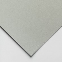 Hahnemuhle : Velour : Pastel Paper : 50x70cm : Single Sheet : Middle Grey