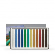 Cretacolor : Carres : Set of 12 : Landscape Colours