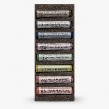 Daler Rowney : Artists' Soft Pastel : Set of 8 : Dark Selection