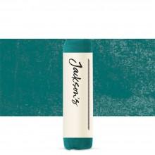 Jackson's : Handmade Soft Pastel : Deep Phthalo Green