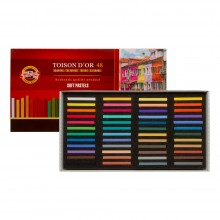 Koh-I-Noor : Toison d'Or : Square Soft Pastels : Set of 48