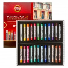 Koh-I-Noor : Toison d'Or : Soft Pastels : Set of 24