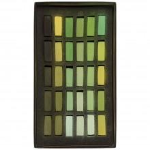 Terry Ludwig : Soft Pastel Set : 30 Warm Greens