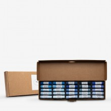 Mount Vision Soft Pastel : Set of 25 : Blues