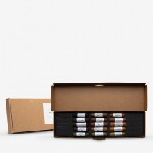 Mount Vision Soft Pastel : Set of 15 : Dark Earth Tones