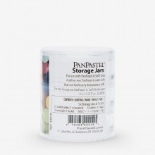 PanPastel : Storage Jars (empty) x 3 Jars & 1 Lid