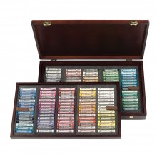 Talens : Rembrandt Soft Pastel : 150 Assorted Wooden Box Set : Master