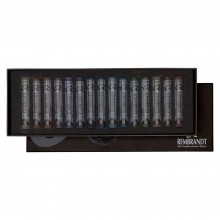 Talens : Rembrandt Soft Pastel : 15 Dark Colours Cardboard Box Set