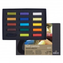 Royal Talens : Rembrandt Soft Pastel : 15 Assorted 1/2 Stick Box Set