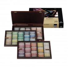 Talens : Rembrandt Soft Pastel : 225 Complete Deluxe Wooden Box Set : Excellent