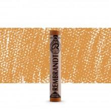 Talens : Rembrandt Soft Pastel : Raw Sienna TR234.7