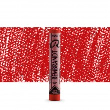 Talens : Rembrandt Soft Pastel : Permanent Red TR372.5