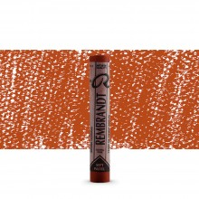 Talens : Rembrandt Soft Pastel : Burnt Sienna TR411.5