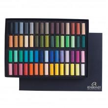 Talens : Rembrandt Soft Pastel : 60 Assorted 1/2 Stick Cardboard Box Set