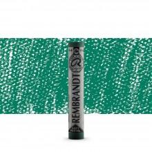 Talens : Rembrandt Soft Pastel : Permanent Green Deep TR619.3