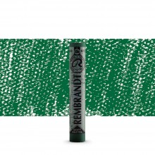 Royal Talens : Rembrandt Soft Pastel : Cinnabar Green Deep TR627.7