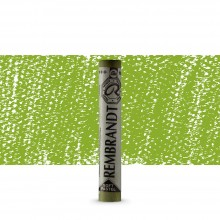 Royal Talens : Rembrandt Soft Pastel : Permanent Yellow Green TR633.3
