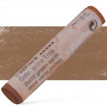 Schmincke : Soft Pastel : Burnt Green Earth- 33B