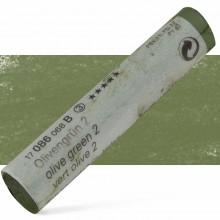 Schmincke : Soft Pastel : Olive Green No. 2.- 86B