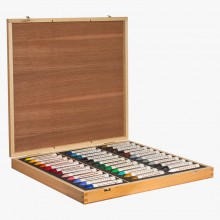 Sennelier : Oil Pastel : Wooden Box Set of 36 Large Pastels