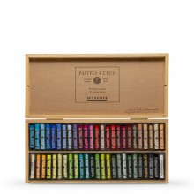 Sennelier : Soft Pastel : Wooden Box Set of 50