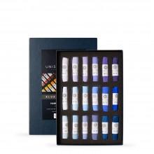 Unison : Soft Pastel : Set of 18 Blue Violet