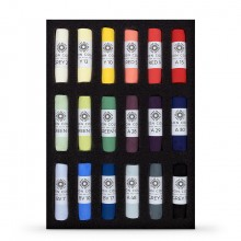Unison Colour : Soft Pastel : Set of 18 Starter