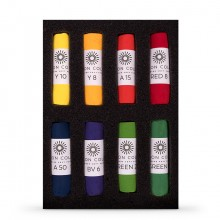 Unison Colour : Soft Pastel : Set of 8 Bright
