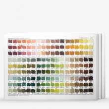 Unison Colour : Soft Pastel : Handmade Colour Chart