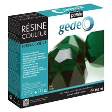 Pebeo Gedeo : Colour Resin 150ml : Jade