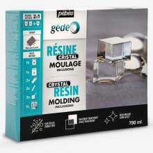 Pebeo : Gedeo : Crystal Resin : 750ml