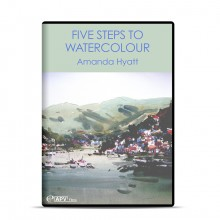 DVD : Five Steps to Watercolour : Amanda Hyatt