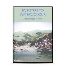 DVD : Five Steps to Watercolour : Amanda Hyatt