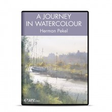 DVD : A Journey in Watercolour : Herman Pekel