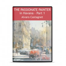 DVD : The Passionate Painter in Havana Part 1 : Alvaro Castagnet