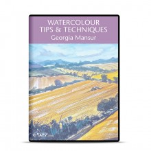 DVD : Watercolour Tips & Techniques : Georgia Mansur