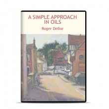 DVD : A Simple Approach In Oils : Roger Dellar