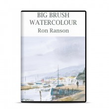 DVD : Big Brush Watercolour : Ron Ranson