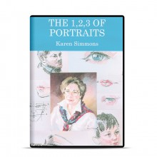 DVD : The 1 -2 -3 of Portraits : Karen Simmons