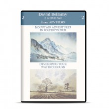 DVD : Twin Pack : Mountain Adventures in Watercolour : David Bellamy